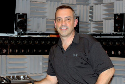 Michael Roan works in the Acoustics, Signal Processing, and Immersive Reality Lab. Photo provided by Michael Roan.